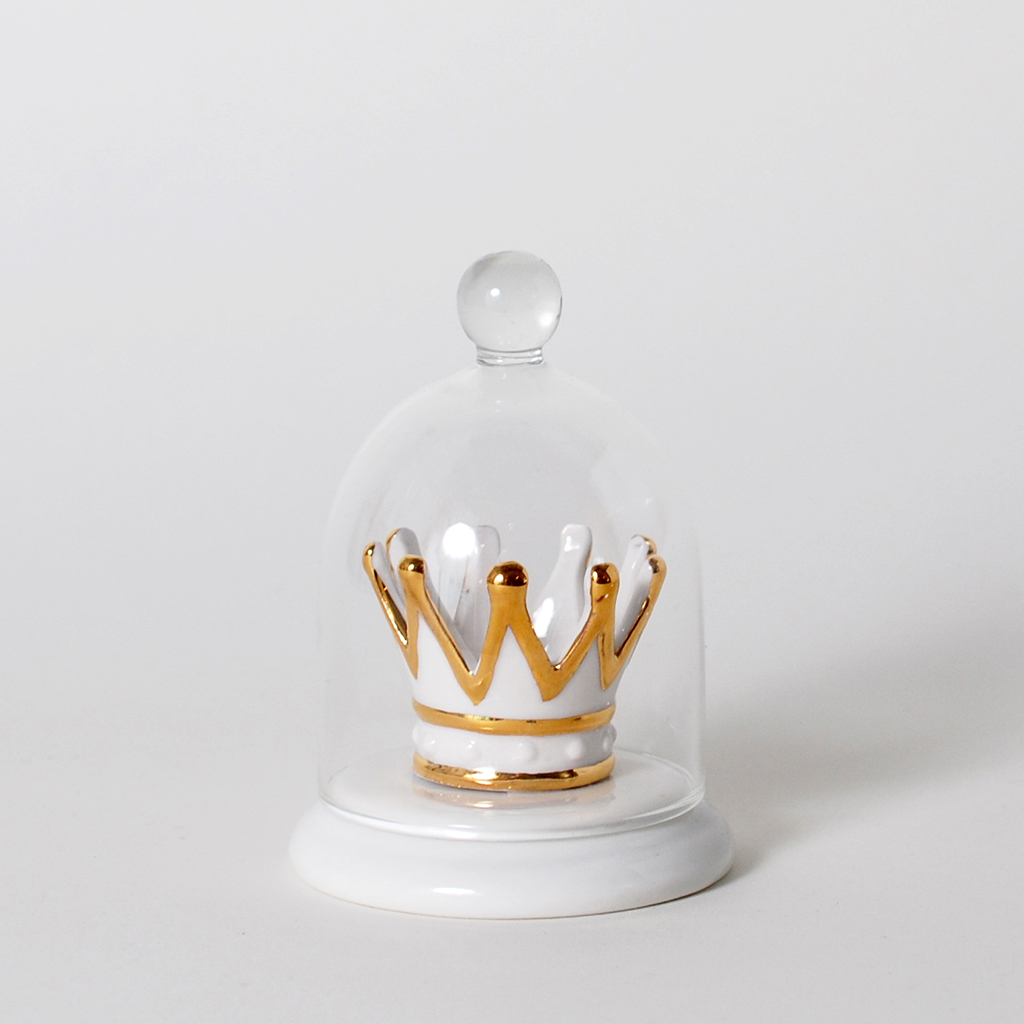 imm living home accessories ring holder crown jewels
