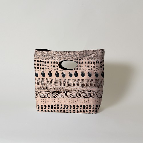 Pitter Pattern Lunch Bag - Black