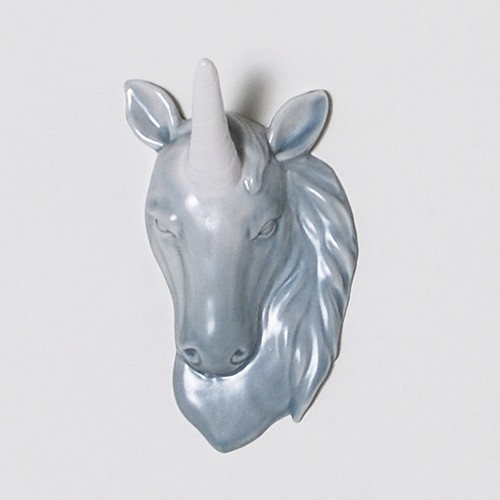 Hunter's Trophy Unicorn Head Wall Jewelry Holder