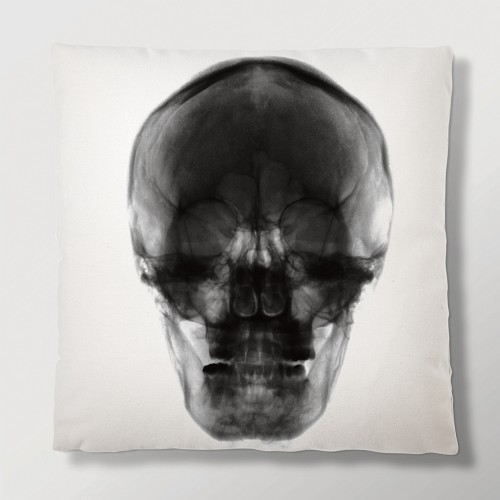 Radiant Relics Cushion - X-Ray Skull (With Insert)