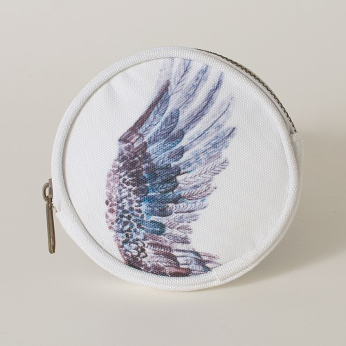 The Dancing Swans Wing Coin Purse