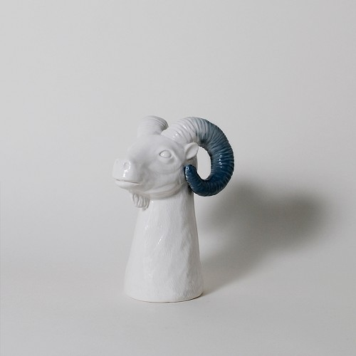 The King's Subject Ram Pencil Holder