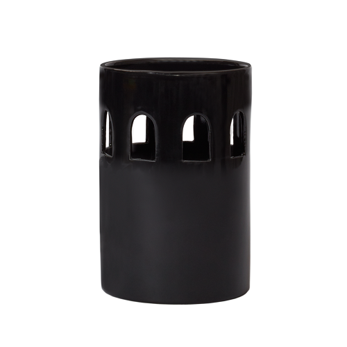 Brasilia Votives C - Matte Black