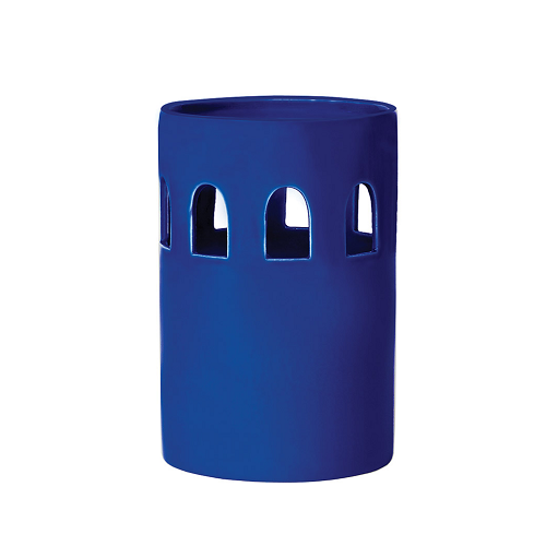 Brasilia Votives C - Persian Blue