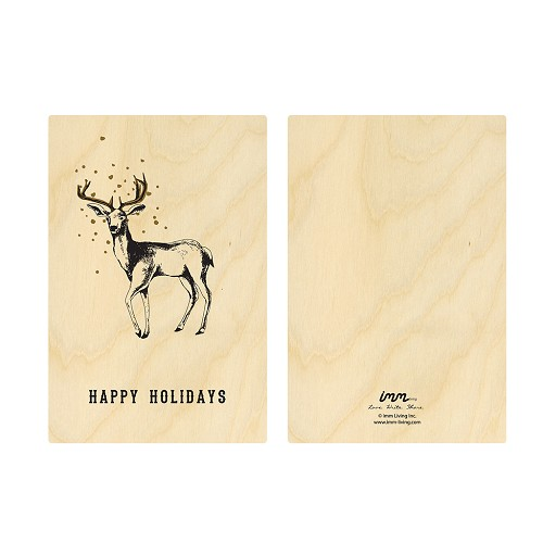 Woodwork Holiday's Deer Card